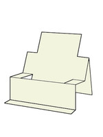 Chair Step Card - French Vanilla 10pk