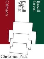 Tri-Fold Rectangles - Christmas