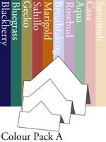 Tri-Fold Diamond - Colour Pack A