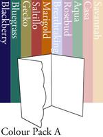 Scalloped Invitation - Colour Pack A