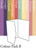 Scalloped Invitation - Colour Pack B