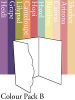 Scalloped Invitation 2 - Colour Pack B