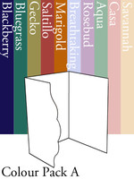 Scalloped Invitation 2 - Colour Pack A