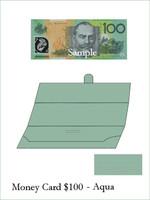 Money Card - Aqua 10pk ($100)