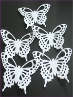5 x Butterfly Paper DieCuts