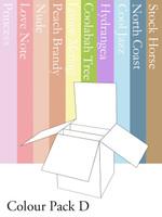 3D Box Card - Colour Pack D