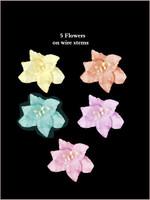 62030  Lillies Pastel SET