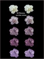 45160 Bridal Rose Lilac Set