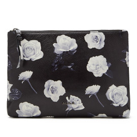 VALENTINA LEATHER CLUTCH