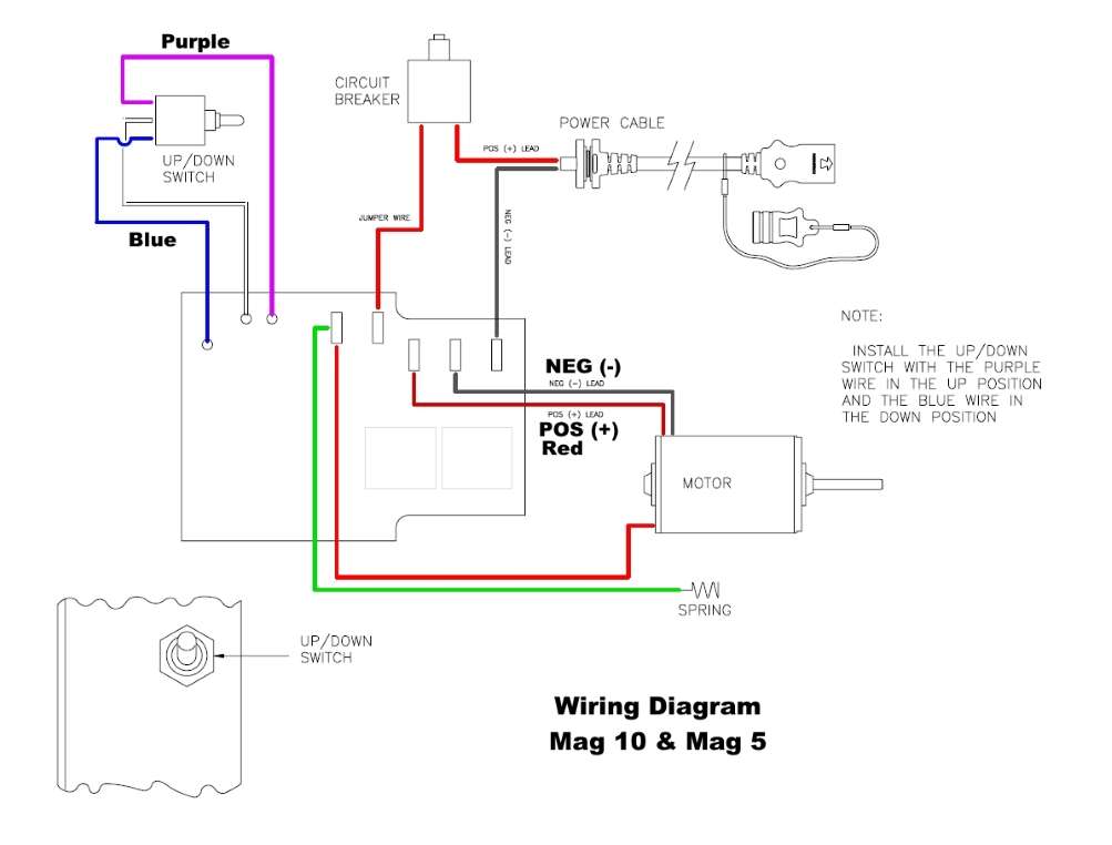 mag 10 5 wiring diagram?t=1452170456 cannon downrigger wiring diagrams fishfinder wiring diagram at mifinder.co