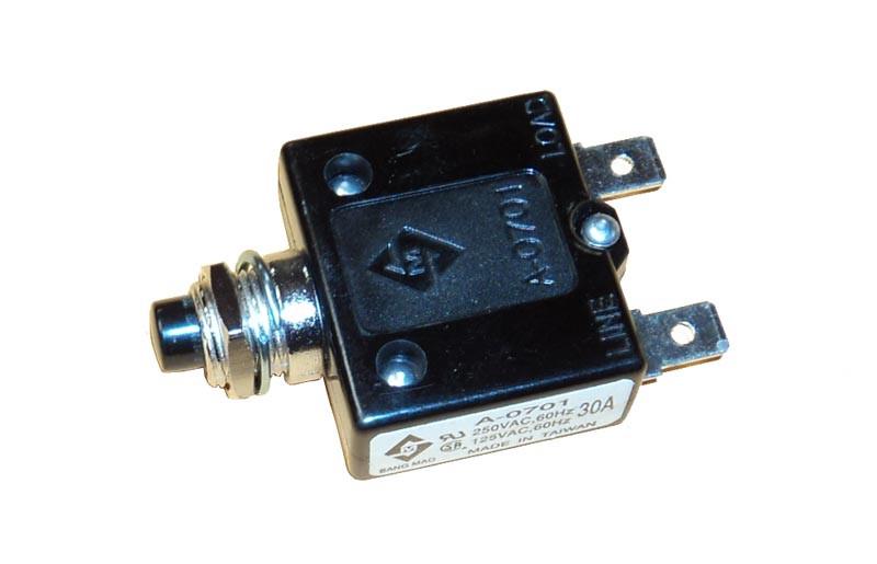 Minn kota trolling motor part circuit breaker 2378203 for Trolling motor circuit breaker installation