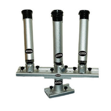 Traxstech Tree Style Triple Rod Holder With Track Riser