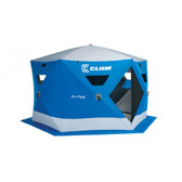 Clam Six Pack 1660 MAG Hub Ice Fishing Shelter (5-7 Man)