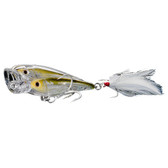 Koppers Live Target Glass Minnow Baitball Popper
