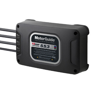 Motorguide 313 triple bank 13a battery charger 553 amps 31713 fandeluxe Gallery