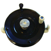 HT Econo Ice Reel Black W/Drag