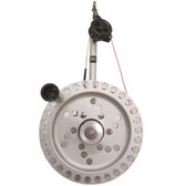 "Traxstech Aluminum Planer Reel with Clamp (1 1/4"" - 2"" Diameter)"