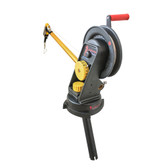 Troll-Master Seahorse® Manual Downrigger System with Swivel Base and Gimbal Mount