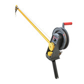 Troll-Master Seahorse® Downrigger with Extended Boom and Gimbal Mount