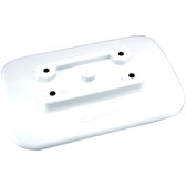 Scotty 341-WH Glue On Mount Pad For Inflatable Boats - White
