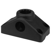 Scotty 241 Rod Holder Side / Deck Mounting Bracket - Black