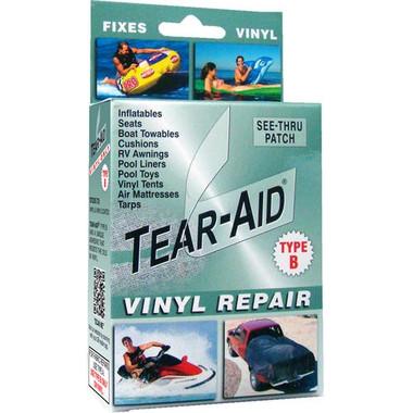 Tear Aid Green Vinyl Repair Kit - Type B