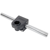 "Scotty 287 7/8"" Round Rail Mount"