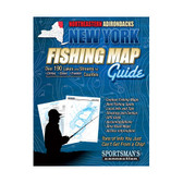 New York Northeastern Adirondacks Fishing Map Guide