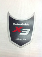 Motor Guide X3 45 Decal
