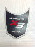Motor Guide X3 70 Decal