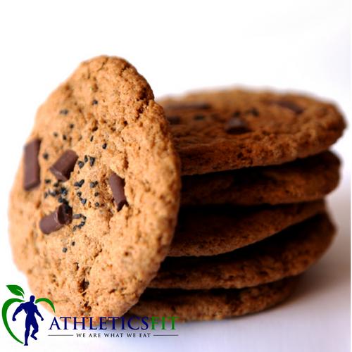 Vegan Gluten Free Choco Chunk Jumbo Cookie - by PamelaWasabi