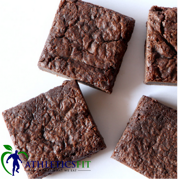 Vegan Gluten Free Chocolate Brownie - by PamelaWasabi