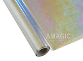 AMagic Textile Foil - S0K219 Holographic Weave Silver