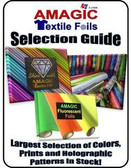 Sample chart of foils available