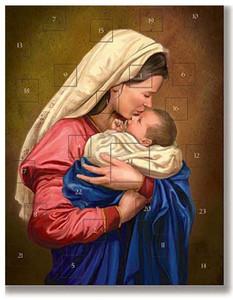 A Mother's Kiss Christmas Advent Calendar