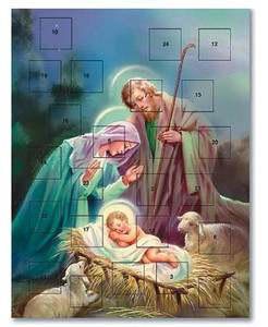 Sleep in Heavenly Peace Nativity of Christ Advent Calendar