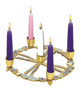 A Light Shines Advent Wreath