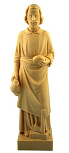 "Catholic Saint Joseph 8"" Statue Home Seller Kit w Prayer Card and Instructions"