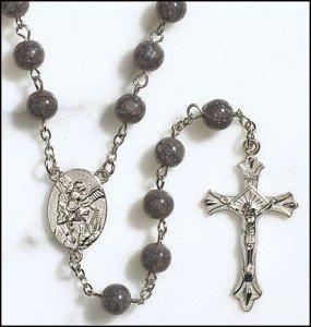 St. Michael Centerpiece Rosary