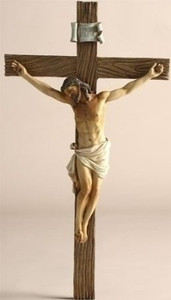 "13"" Joseph's Studio Renaissance Religious Crucifix Wall Cross"