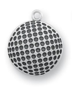 Sterling Silver Christ Golf Athlete Medal