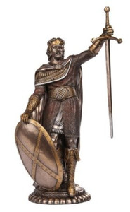 Guardian of Scotland William Wallace Bronze Collectible Figurine
