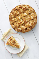 Fresh Baked Apple Lattice Pie