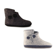 Felted Slipper Boots