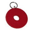 Felted Key Chains in Red by Verso