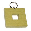 Felted Key Chains in Yellow by Verso
