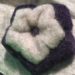 Handfelted Slippers by Clemente