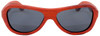 Rockaway Butterfly Polarized Red Rosewood Sunglasses Straight