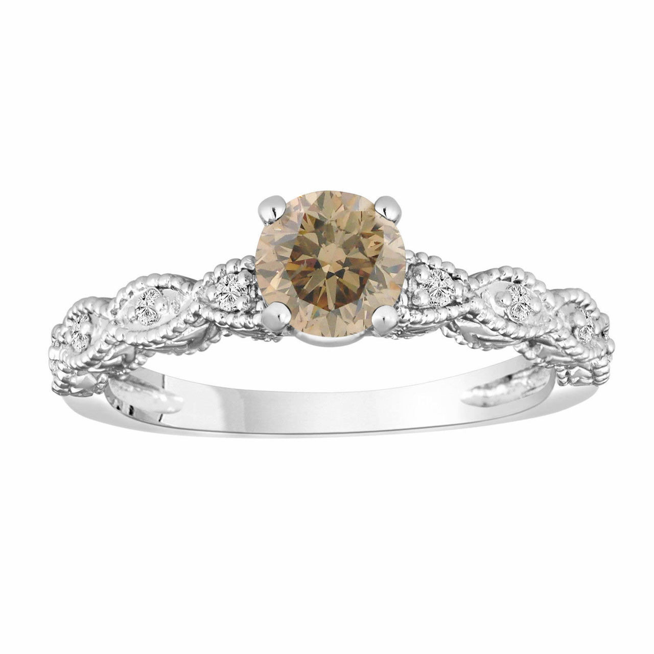 Champagne Diamond Engagement Ring Reviews