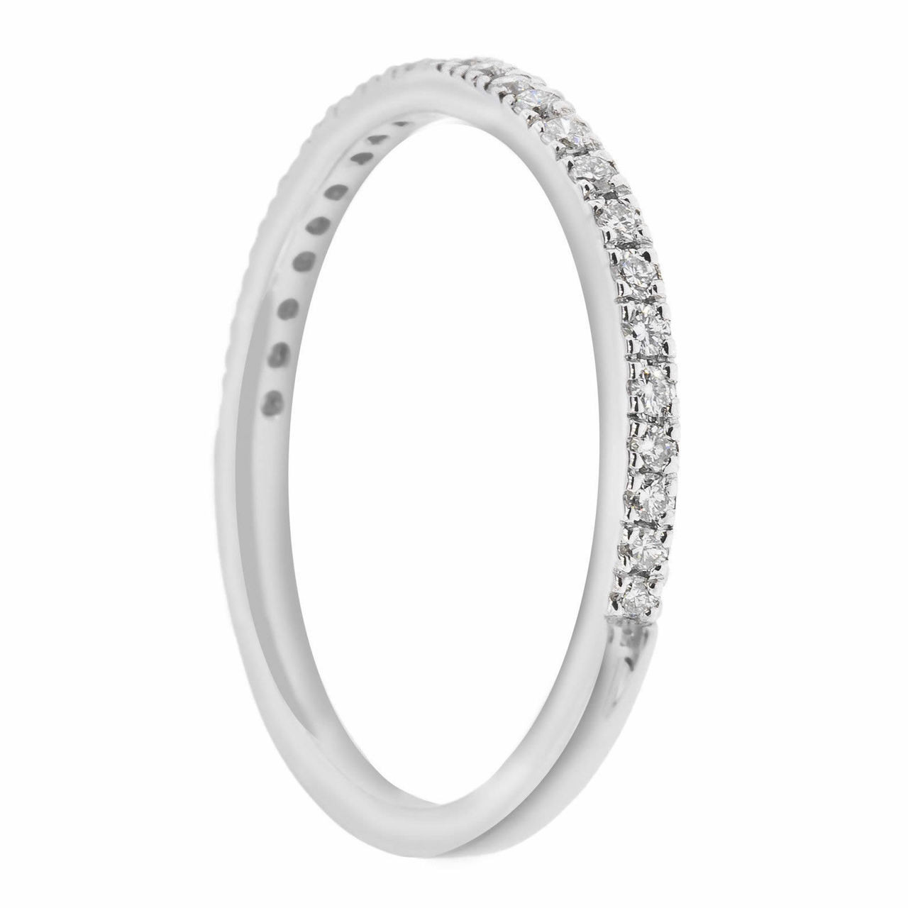 950 platinum wedding anniversary diamond stackable band 025ct 950 platinum wedding anniversary diamond stackable band 025ct handmade pave set junglespirit Gallery